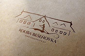 Koliba Bešeňovka logo  3D prehliadka  web