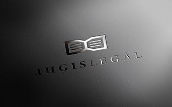 IUGIS LEGAL - advokátska kancelária logo  grafika  print  web