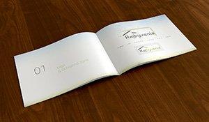 Raj Bývania úprava logo manuálu  grafika  web