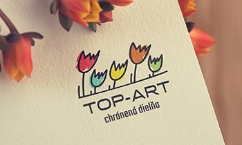TOPART logo  grafika  print  web